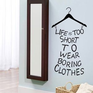 Other - Life Is Too Short Wall Sticker